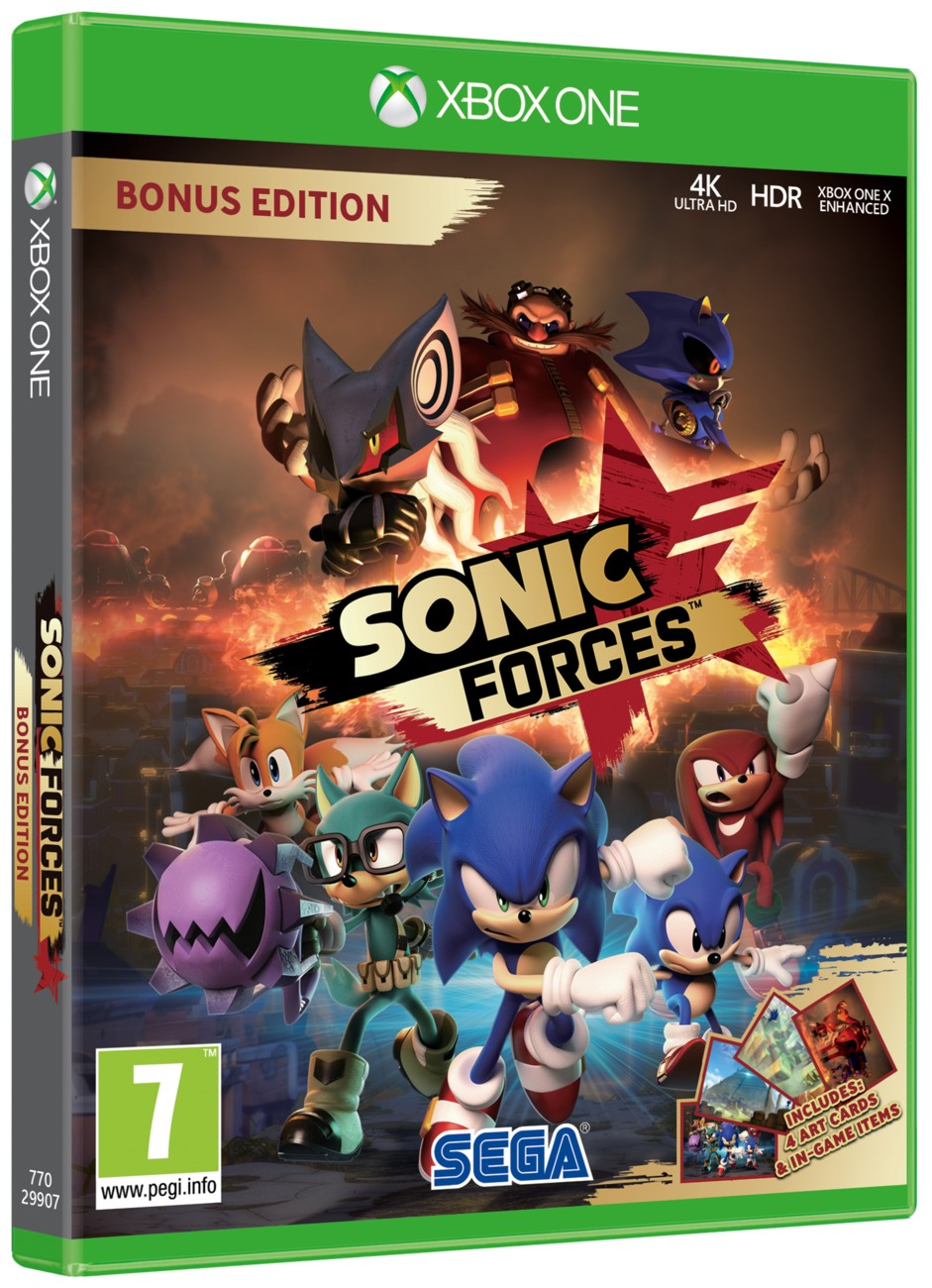 Sonic Forces (D1 Edition) - Xone
