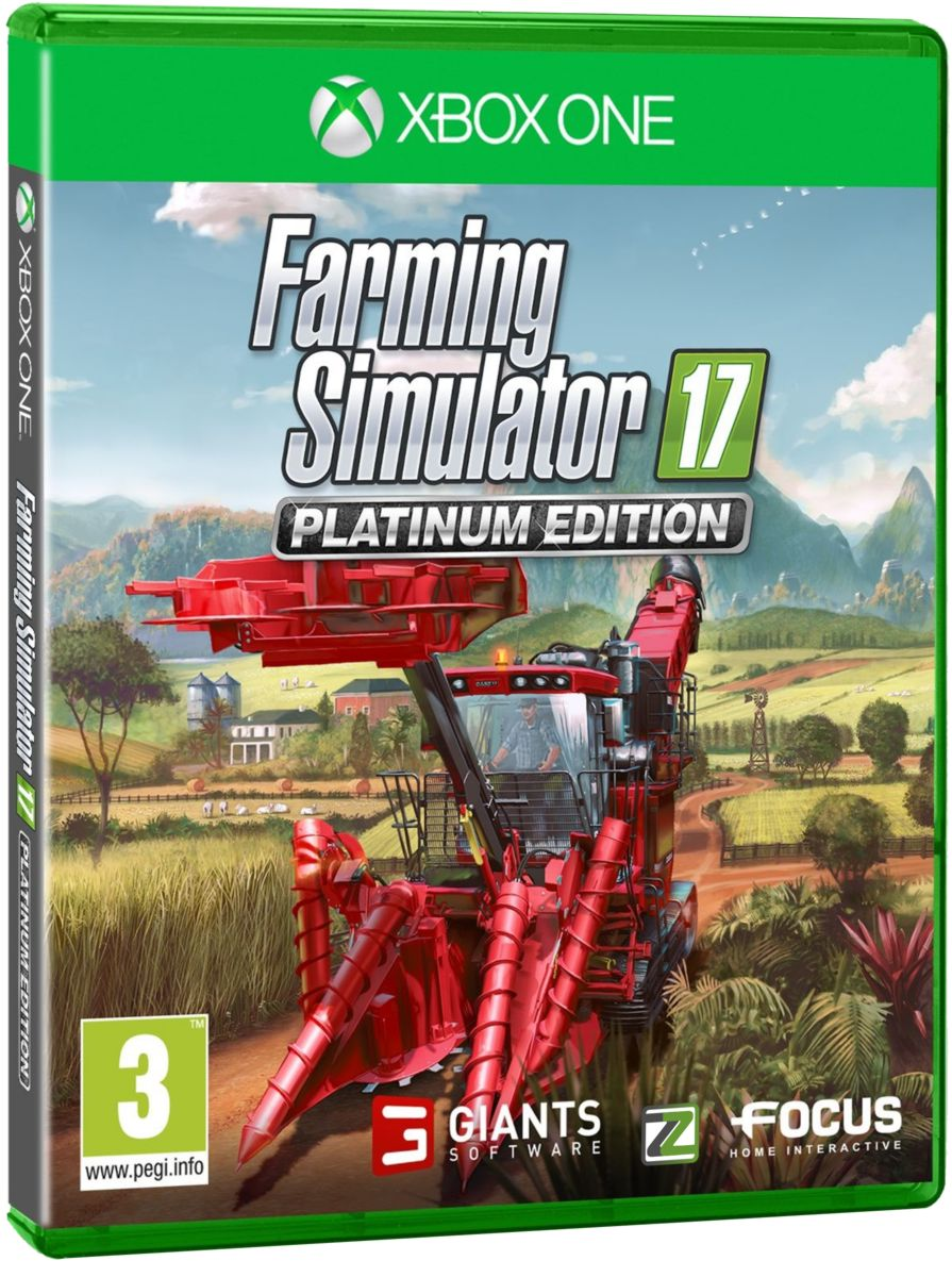 Farming Simulator 17 - Platinum Edition - Xone