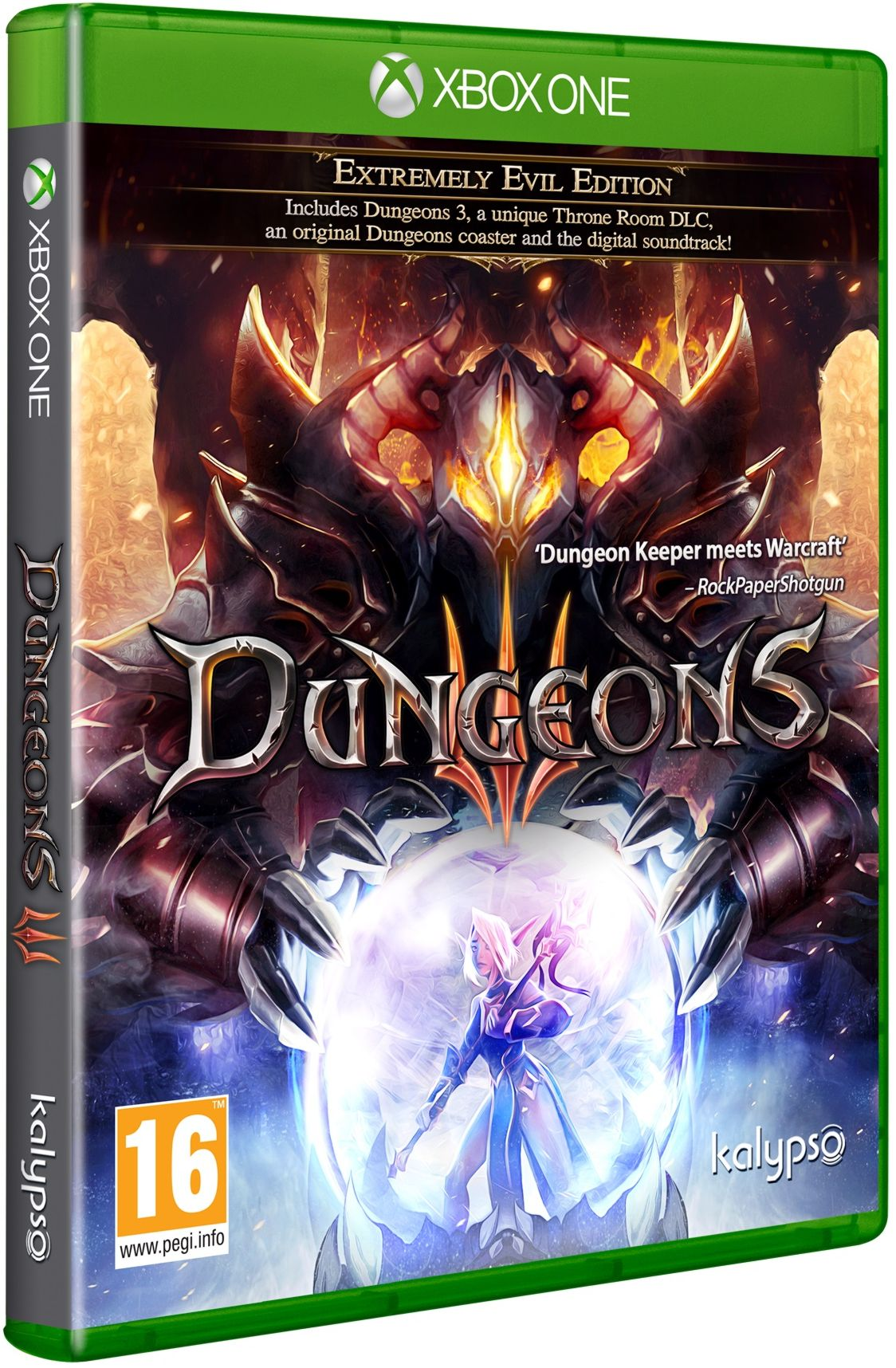 Dungeons 3 Extremely Evil Edition - Xone