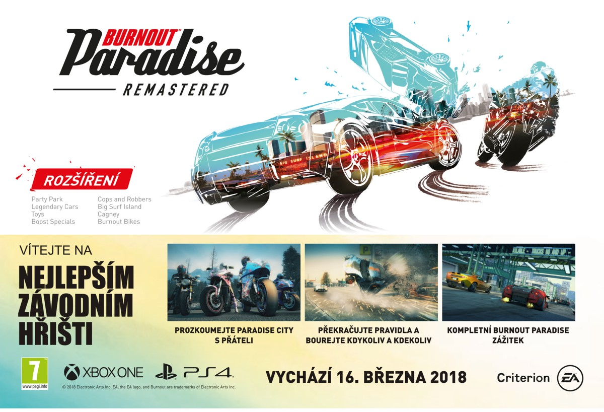 Microsoft Xbox ONE - Burnout Paradise Remastered