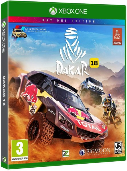 detail Dakar 18 - Day One Edition - Xone