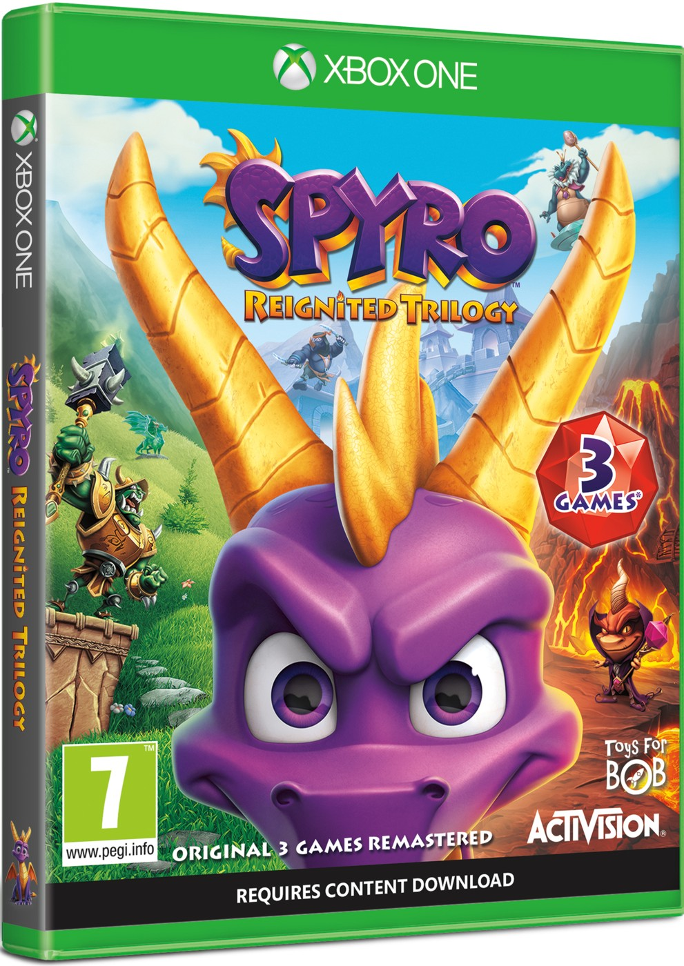 Spyro Trilogy Reignited - Xone