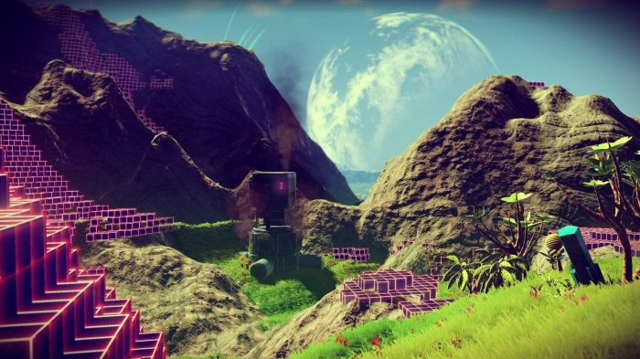 detail No Man's Sky - Xbox One