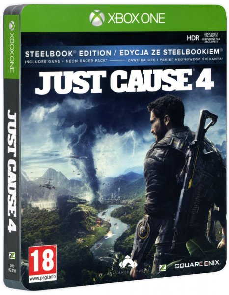 detail Just Cause 4 (Steelbook Edition ) - Xbox One