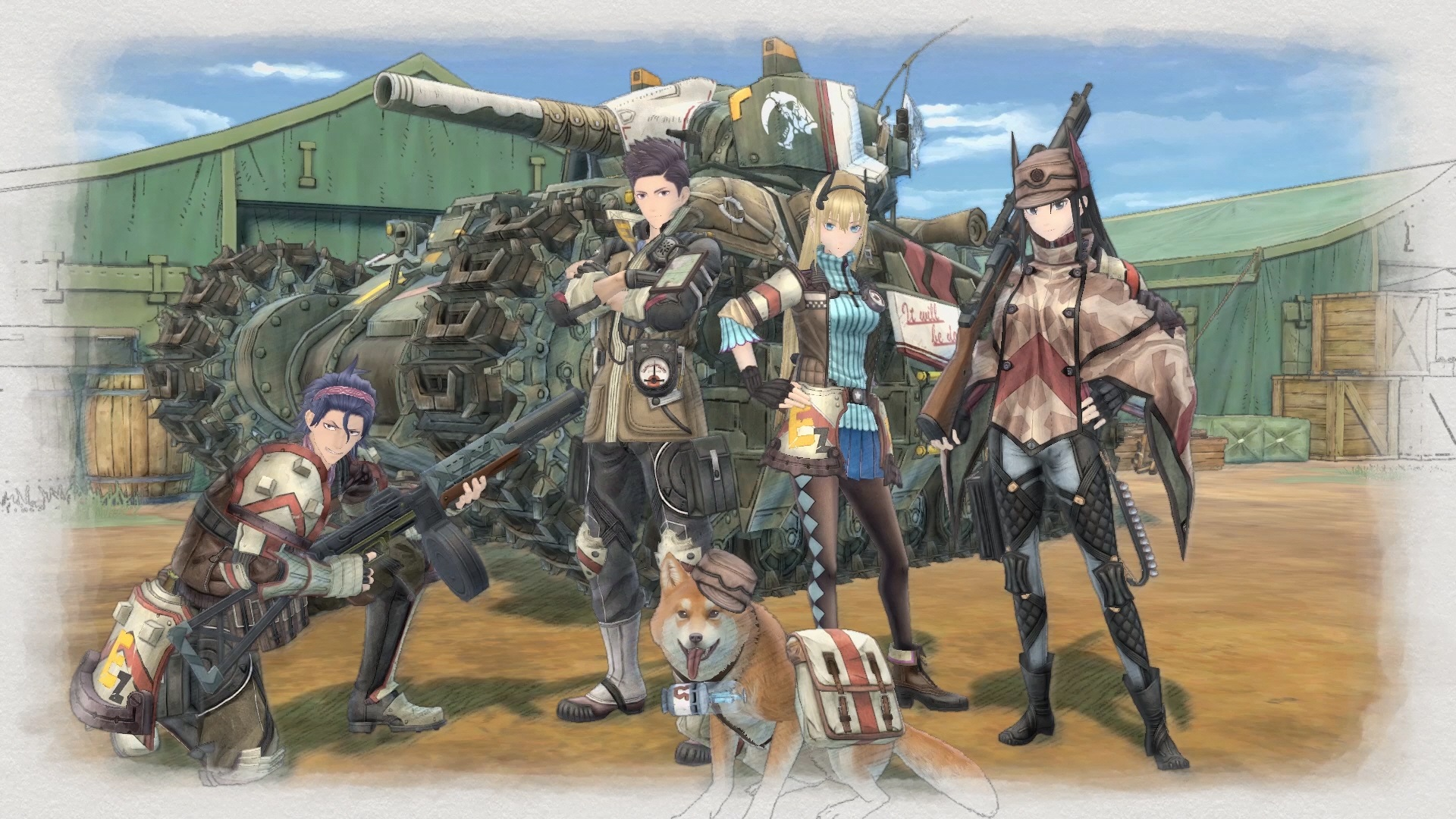 Microsoft Xbox ONE - Valkyria Chronicles 4