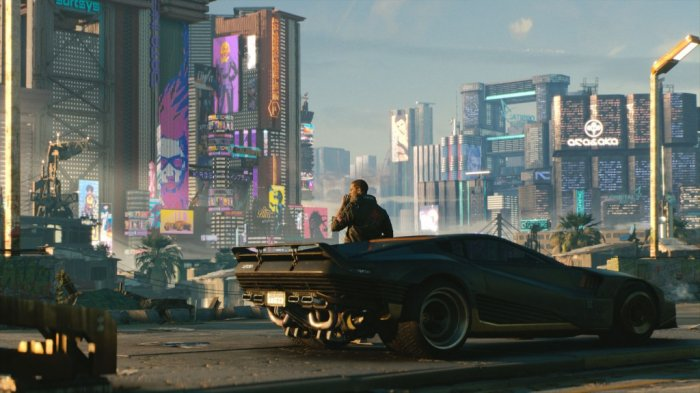 detail Cyberpunk 2077 - Xbox One
