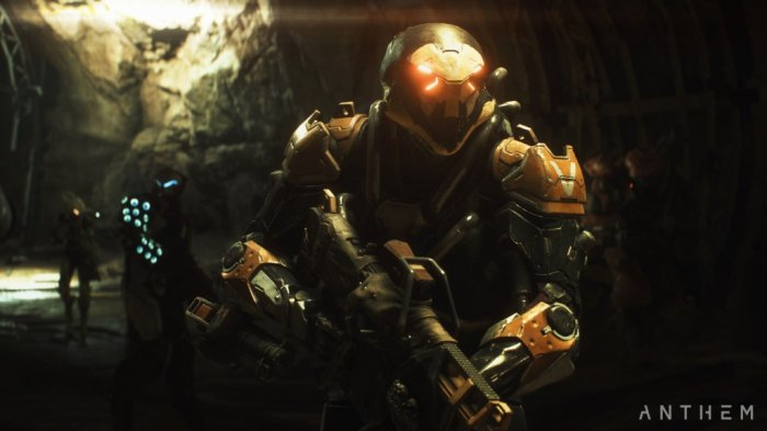 detail Anthem - Xbox One