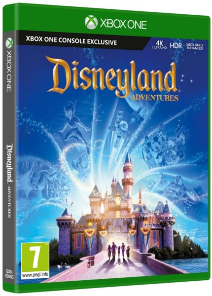 detail Disneyland Adventures - Xbox One