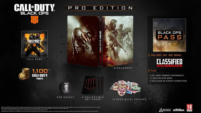 detail Call of Duty: Black Ops 4 Pro Edition - Xbox One
