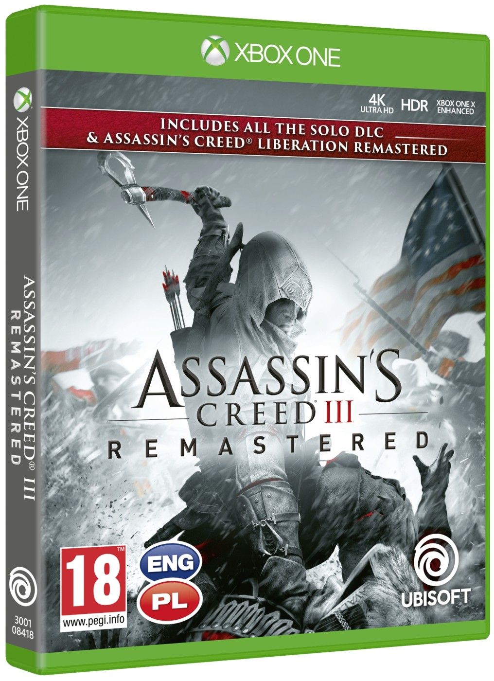 Assassin's Creed 3 Remastered - Xone