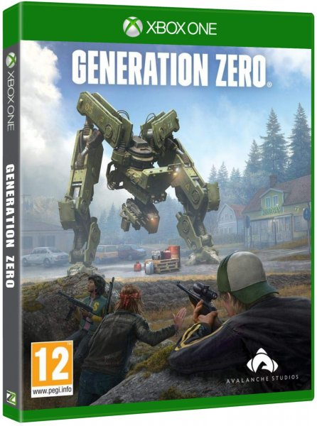 detail Generation Zero - Xbox One
