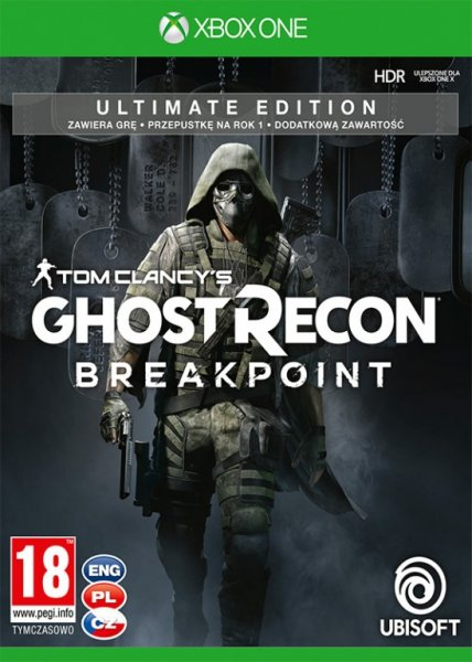 detail Tom Clancy's Ghost Recon Breakpoint Ultimate Edition - Xone