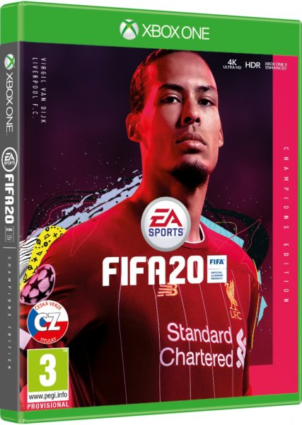detail FIFA 20 Champions Edition CZ - Xbox One
