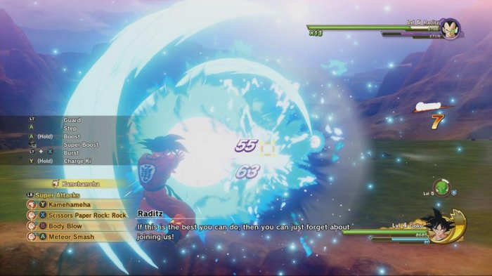 detail Dragon Ball Z Kakarot - Xbox One