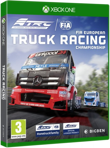 detail FIA European Truck Racing Championship - Xbox One