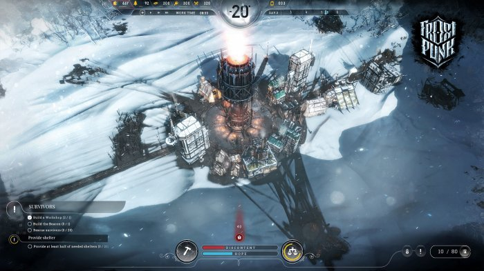 detail Frostpunk - Xbox One