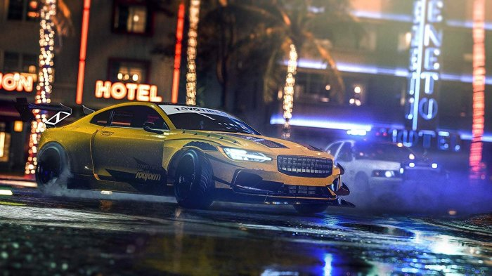 detail Need For Speed Heat - Xbox One