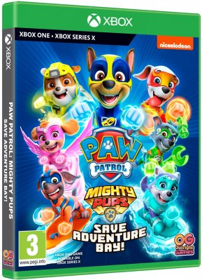 Tlapková patrola - Paw Patrol: Mighty Pups Save Adventure Bay - XOne/XSX