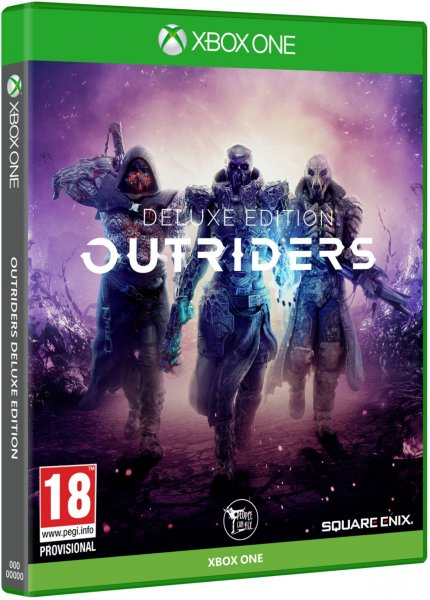 detail Outriders Deluxe Edition - Xbox One