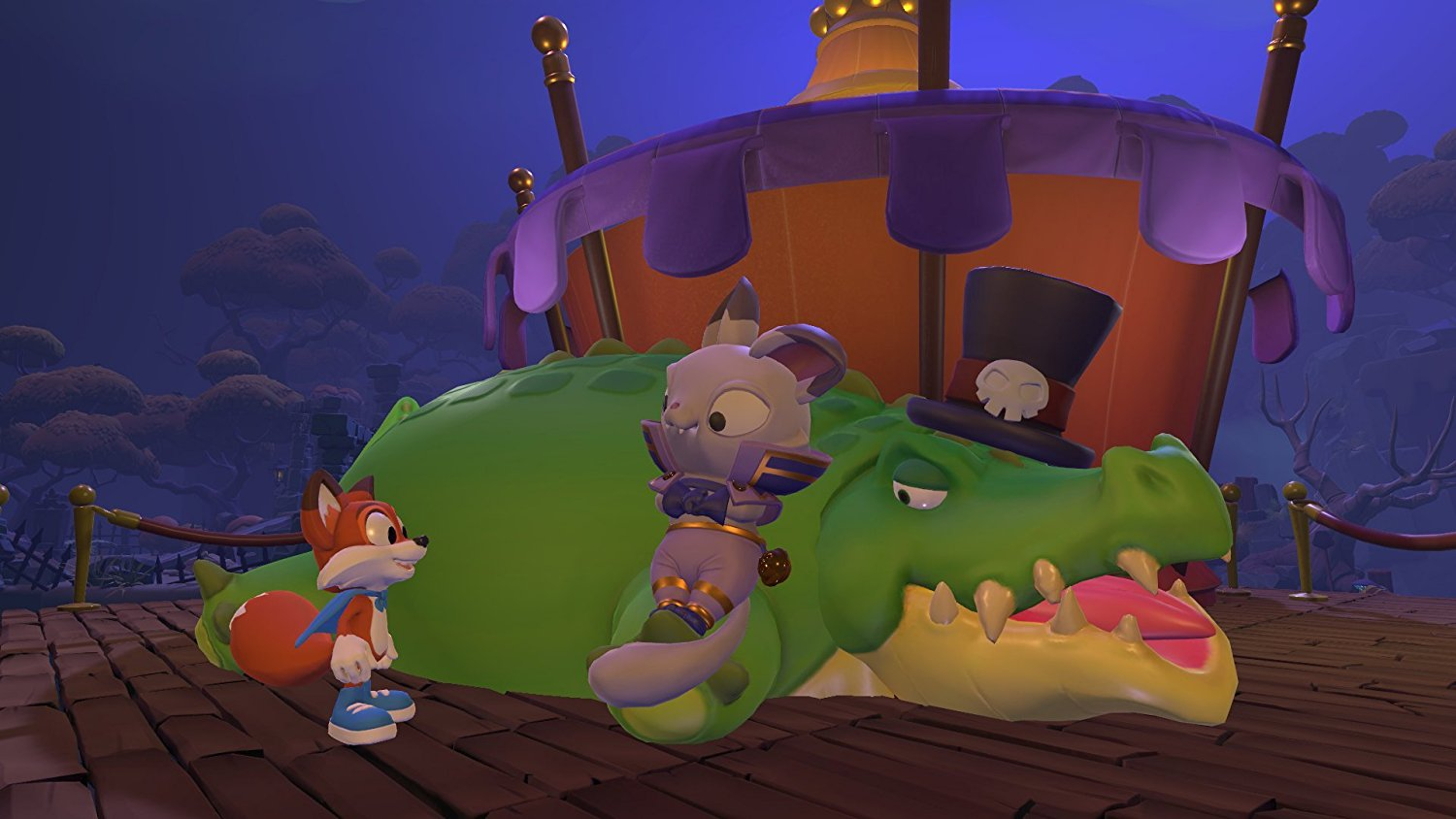 - Super Lucky's Tale