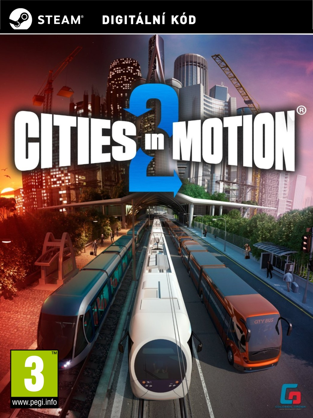 Cities in Motion 2 - PC (licence - digitální produkt ESD)