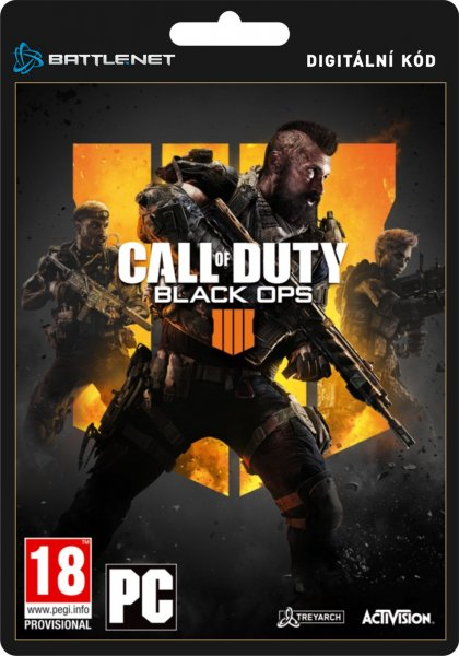 detail Call of Duty Black Ops 4 - PC (licence - digitální produkt ESD)