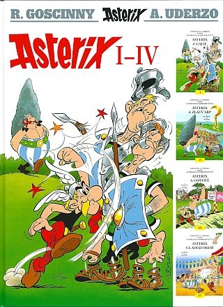 detail Asterix I - IV