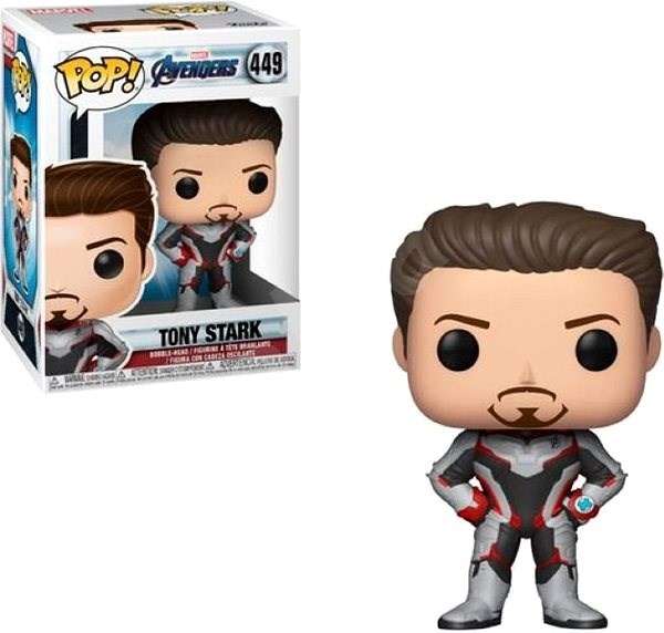 detail Funko POP! Marvel: Avengers Tony Stark