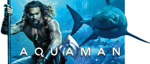 AQUAMAN - DVD, Blu-ray 3D, Blu-ray 2D a 4K Ultra HD