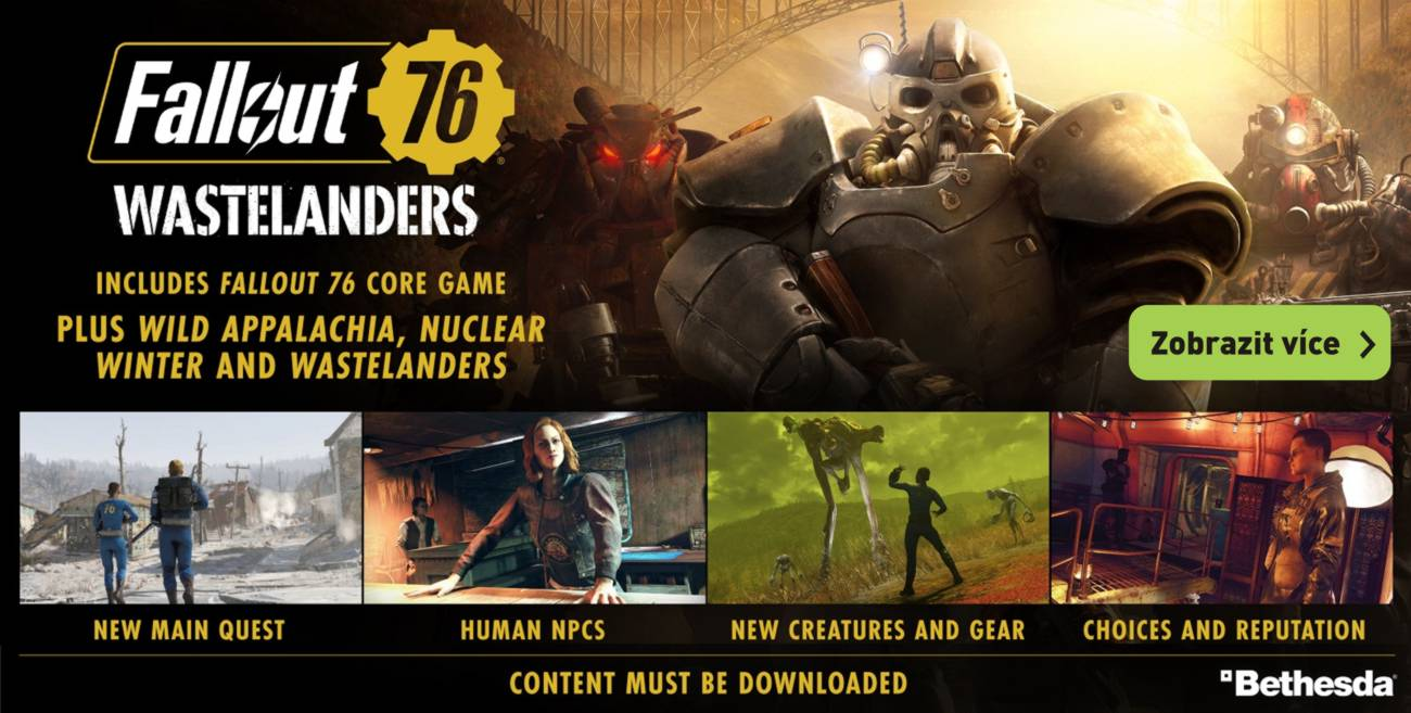 Fallout 76 Wastelanders