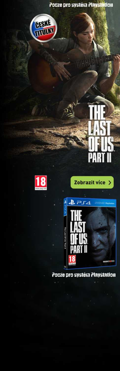 The Last of Us: Part II s CZ tituky pro PS4