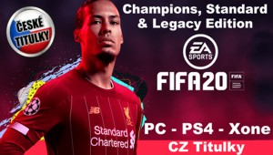 Fifa 20 pro PC a herní kozole PS4, Xone a Nintendo Switch